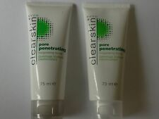 AVON CLEARSKIN PORE PENETRATING INVIGORATING SCRUB * X 2 * SALE * FREE POSTAGE