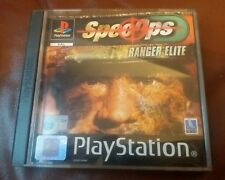 Spec Ops: Ranger Elite Sony PlayStation 2 PS1 11+ Action Shooter Game