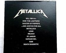 The Metallica Album Collection 13 CD Box Set  BRAND NEW SEALED