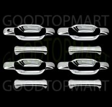 For COLORADO CANYON 2004-2009 2010 2011 2012 Chrome 4 Door Handle Covers w/o KH