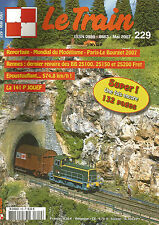 LE TRAIN N°229 PARIS-LE BOURGET / BB 25100, 25150 ET 25200 FRET / 141 P JOUEF