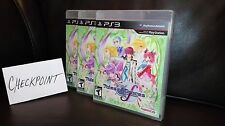 Tales of Graces f (Sony PlayStation 3, 2012) BRAND NEW FACTORY SEALED RARE!