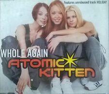 Atomic Kitten - Whole Again  - CD Single