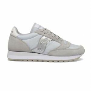 Scarpe da donna Saucony Jazz Original S1044 607 grigio argento sneakers sportiva