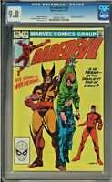 Daredevil #196 CGC 9.8 White Pages Wolverine app