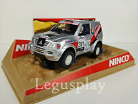 """SCX Scalextric Slot Ninco 50314 Mitsubishi Pajero """"Khrol"""" Nº201"""