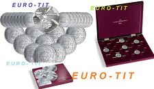 10 EURO  REGION   FRANCE    2011    ARGENT   SERIE  27  PIECES   / disponible