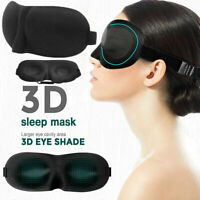 Sleep Mask For Men And Women Eye Mask For Sleeping Blindfold Travel Accessories~