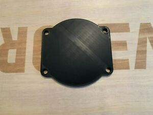 Chevy LS Engine 102mm Throttle Body Cover / Block Off Plate (Black)