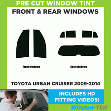 Pre Cut Window Tint - Toyota Urban Cruiser 2009-2014 - Full Kit