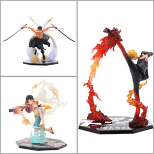 """6"""" Anime One Piece Luffy Zoro Sanji Action Figure Model Toy Collectable Gift"""