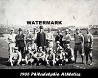 MLB 1905 Philadelphia Athletics Black & White Team Pic 8 X 10 Photo  Picture
