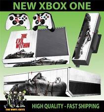 Xbox One pegatinas consola el mal en horror 001 supervivencia de la piel y 2 Pad Skins
