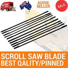12PC SCROLL SAW BLADE,130MMX18TPI,PINNED,Ryobi 125W 405mm Scroll Saw RSW1240G