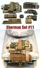 1/35 Scale Resin kit Sherman Tank Engine Deck and Stowage Sets #11