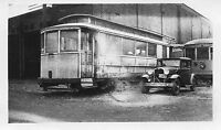 Z723 RP 1930s? NEW YORK & QUEENS COUNTY RAILWAY STREETCAR #500 NYC NY