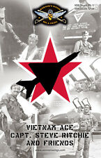 WW Decals 72-06 1/72nd Vietnam Ace- Capt Steve Ritchie and Friends