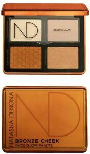 NATASHA DENONA  Bronze Cheek Face Glow Palette ** Brand New in Box ** Retail $55