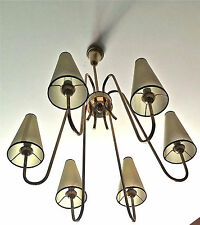 lustre chandelier 1950 lamp 50 lights suspension