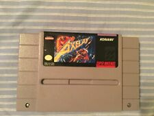 Axelay for the Super Nintendo Entertainment System - Authentic, Tested