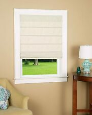 """Cosmo Thermal Backed Roman Shade with No Operating Cords  Linen 36 x 64"""""""