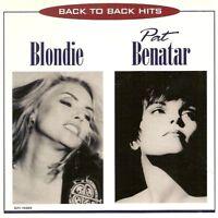 Blondie, Pat Benatar - Back to Back Hits (1996)  CD  NEW/SEALED  SPEEDYPOST