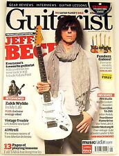GUITARIST MAGAZINE May 2011 Jeff Beck Fender Zakk Wylde PRS Martin Trace Elliot