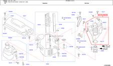 Infiniti NISSAN OEM 02-04 Q45 Air Cleaner Intake-Inlet Duct Hose Tube 16576AR010