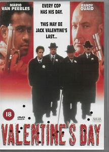 Valentines Day DVD Mario Van Peebles Randy Quaid - ALL PAL REGIONS AUSTRALIA