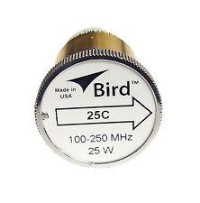 Bird 25C Plug-in Element 0 to 25 watts for 100-250 MHz for Bird 43 Wattmeters