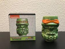 NEW TMNT Mini Geeki Tiki Ceramic Mug Michelangelo Lootcrate Collectible Turtles
