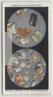 Sea and Desert Sand Magnified Under Microscope 80+ Y/O Trade Ad Card