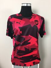 BNWT Arsenal Pink Camo Pre Match Training Football Shirt Jersey 2017/18 (L)