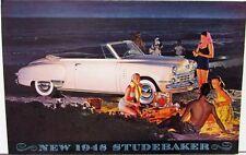 1948 Studebaker Land Cruiser Commander Champion Sales Brochure Folder Original