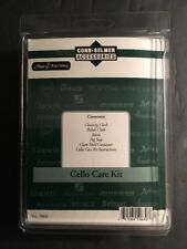 New Sealed Cello Care Kit Conn Selmer Rosin, Peg Stop, Polish Cloth Accessories