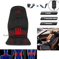 8Mode Massage Car Home Office Seat Cushion Back Relief Chair Pad Lumbar Massager