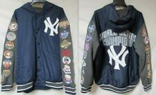 New York Yankees Mens Size X-Large 27 Time World Series Champions Jacket B1 415