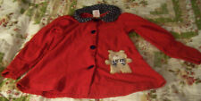 Buster Brown Girl's Pant Set Size 5 Red White & Blue Long sleeves Vg