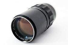 """""""As Is"""" Minolta Mc Rokkor Qf 200mm F/3.5 Telephoto Prime Lens From Japan #1143"""