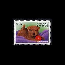 Antigua, Sc #2103e, Mnh, 1997, Dog, Norfolk Terrier, 12Fxcx