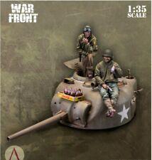 1/35 Resin Figures Model Kit TANK & COKE  2 fig.+turret+coke  Unassambled