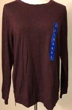 NWT~MATTY M~Long Sleeve~Burgundy~Soft T-Shirt Top~Rayon/Spandex~Item #1216194