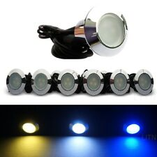 Pack of 5 Low Voltage LED Deck Light Kit Waterproof Outdoor Step Stairs Garden