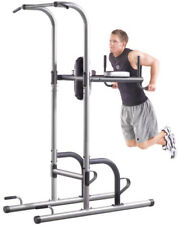 Dip Station Golds Gym XR 10.9 Power Tower with Push Up, Pull Up