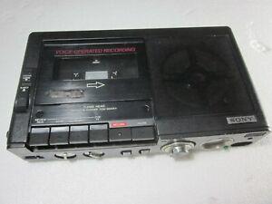 Sony TCM-5000EV 3 head Pressman Profession Portable Mono Voice Cassette Recorder