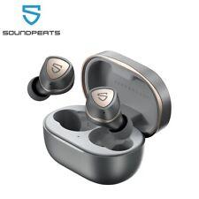 SoundPEATS Sonic Bluetooth Fone De Ouvido Sem Fio 5.2 verdadeiro CVC 8.0 cancelamento de ruído