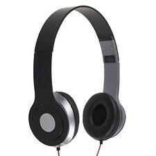3.5mm Headphone Earphone Headset Over Head For iPhone iPod MP3 MP4 PC Table Tab