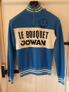 Cycling Jersey Long Sleeve Vintage Retro Eroica Knitted Acrylic M Belgian