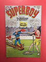 SUPERBOY #110 Public Contest of Powers! Revenge of Lana Lang! DC Silver Age 1964