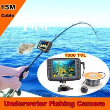 "Eyoyo 3.5"" Monitor HD 1000TVL Underwater Camera 15M Fish Finder Ice/Sea Fishing"